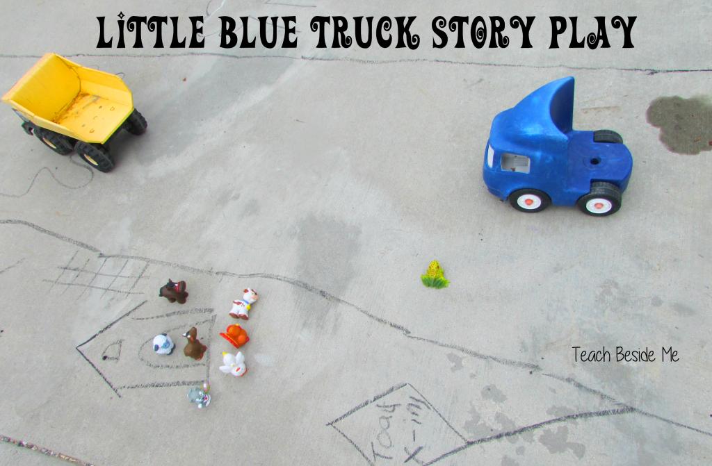 little blue truck play