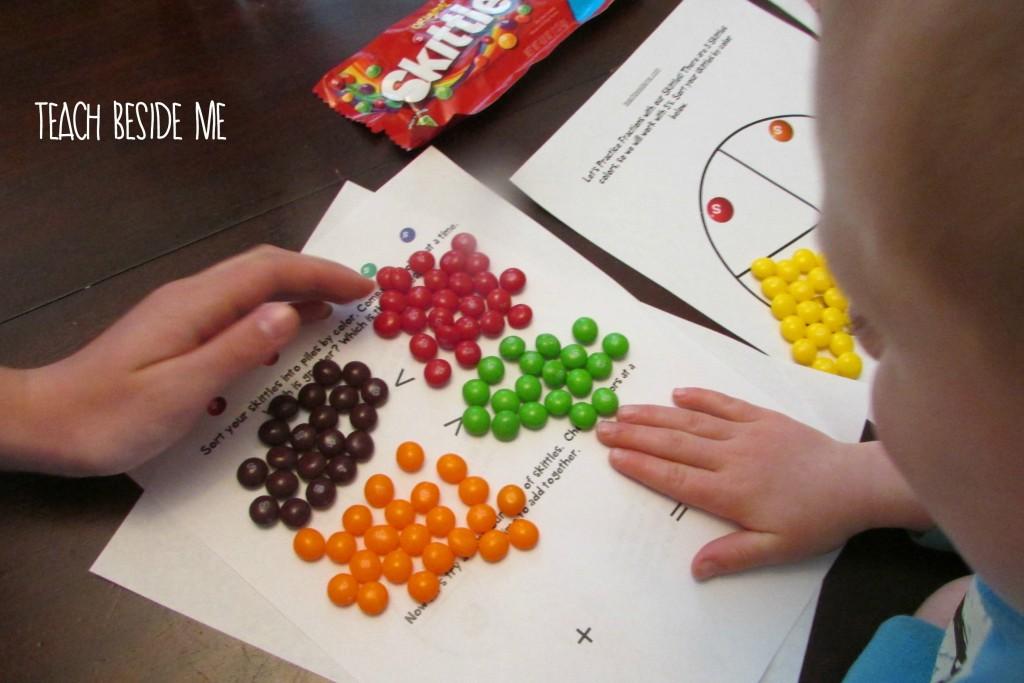 skittles math activities