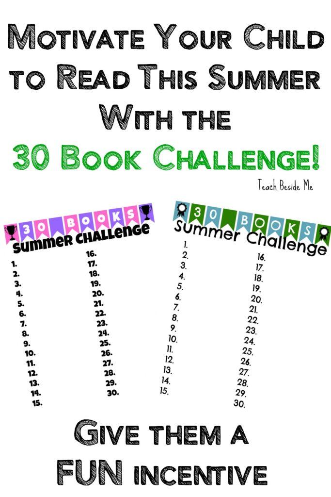 30 Book Summer Reading Challenge