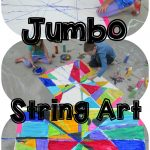 Jumbo Geometric String Art