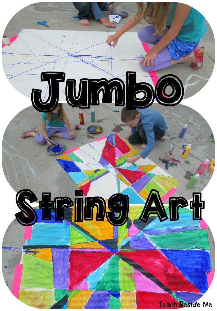 Jumbo Geometric String Art