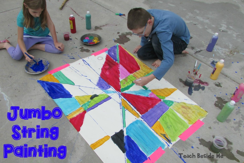 Jumbo String Painting