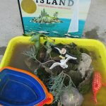 The Little Island Sensory Play from Teach Beside Me