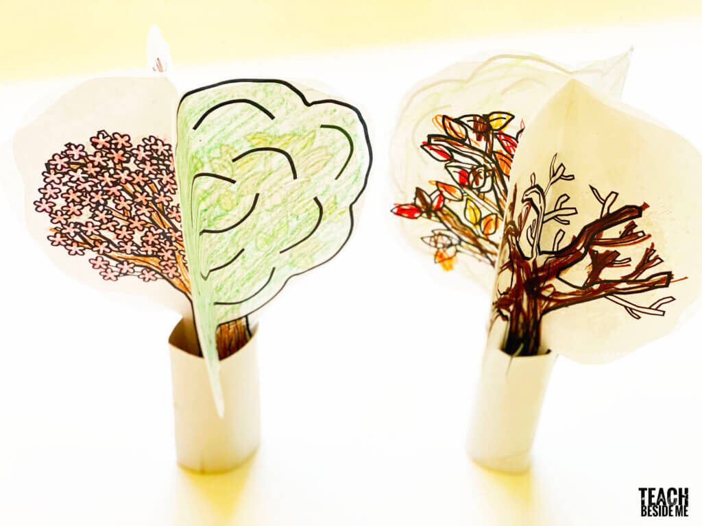 4 seasons tree craft