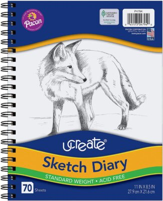sketch pads for art in homeschool