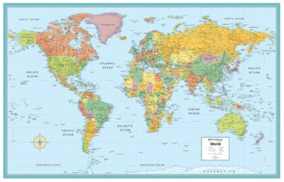 world map for homeschool