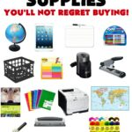 Home School Supply Checklist