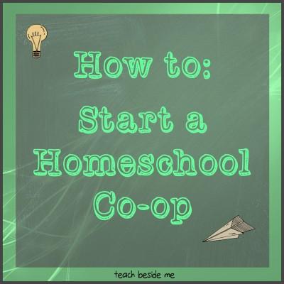 How to Start a Homeschool Co-op