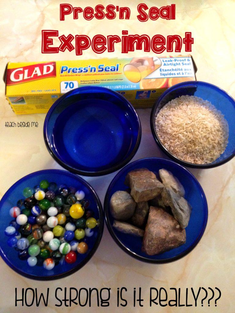 Press'n Seal Experiment