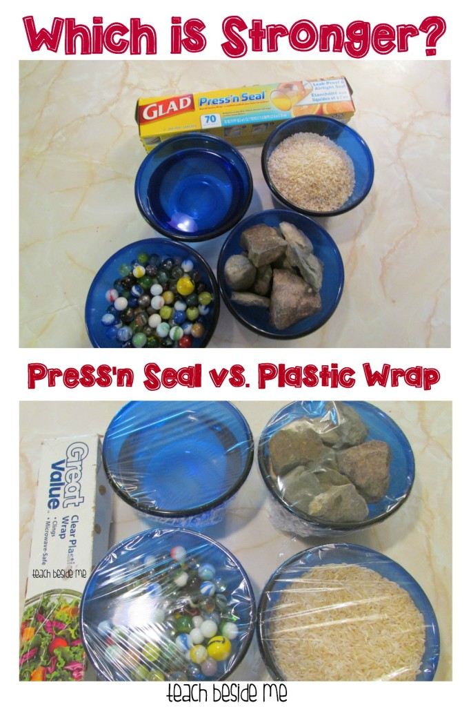 Press'n Seal vs. Plastic Wrap- Which is Stronger