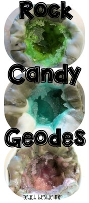 Rock Candy Geodes from Teach Beside Me