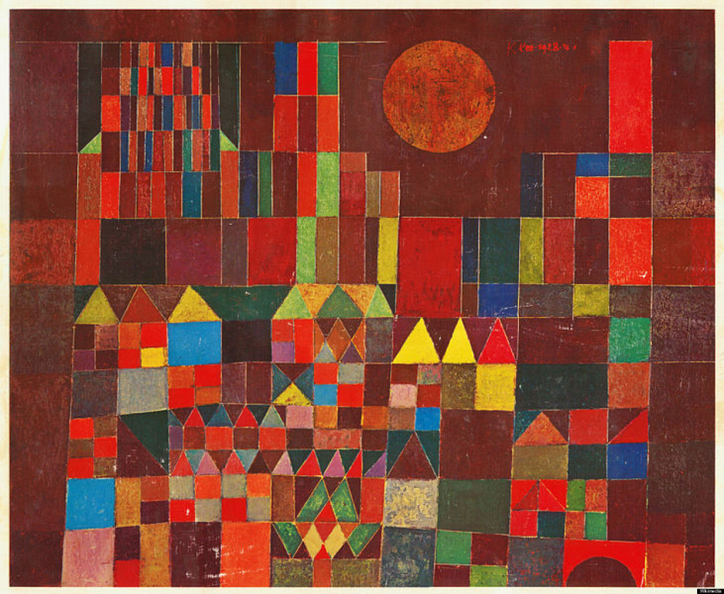 PAUL-KLEE Castle and Sun