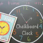 Chalkboard Clock Learning