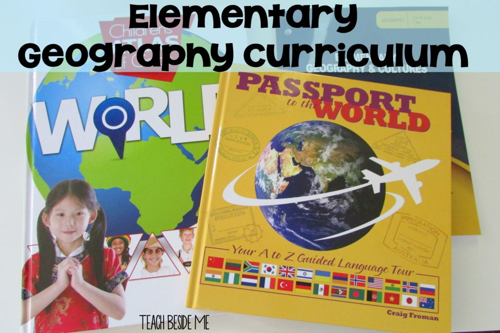 Elementary Geography Curriculum for Homeschool