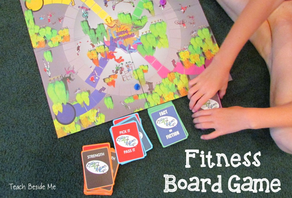Fitness board game- Flip2BFit