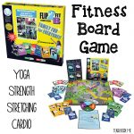 Fitness Board Game for Kids