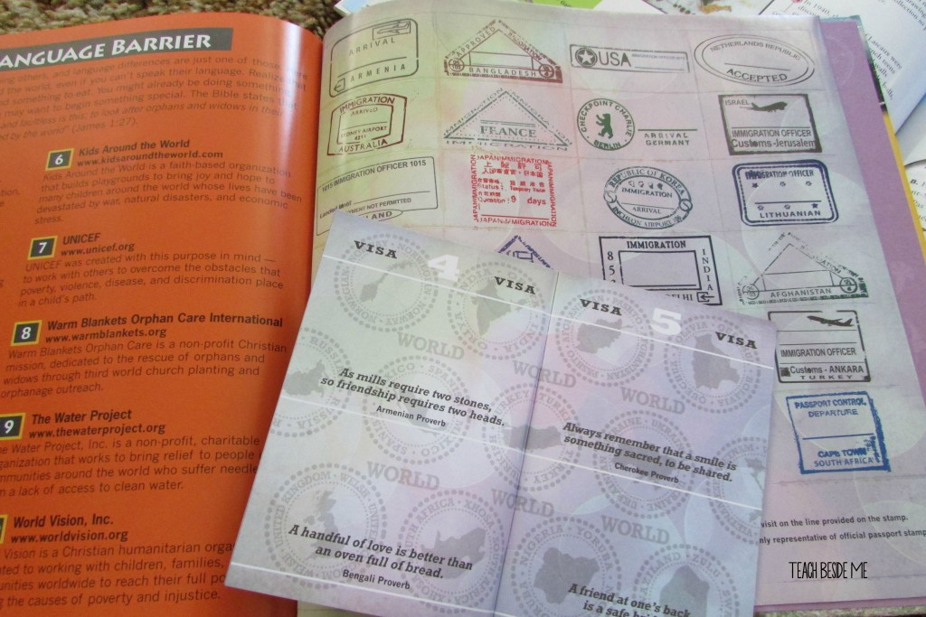 Geography curriculum passport