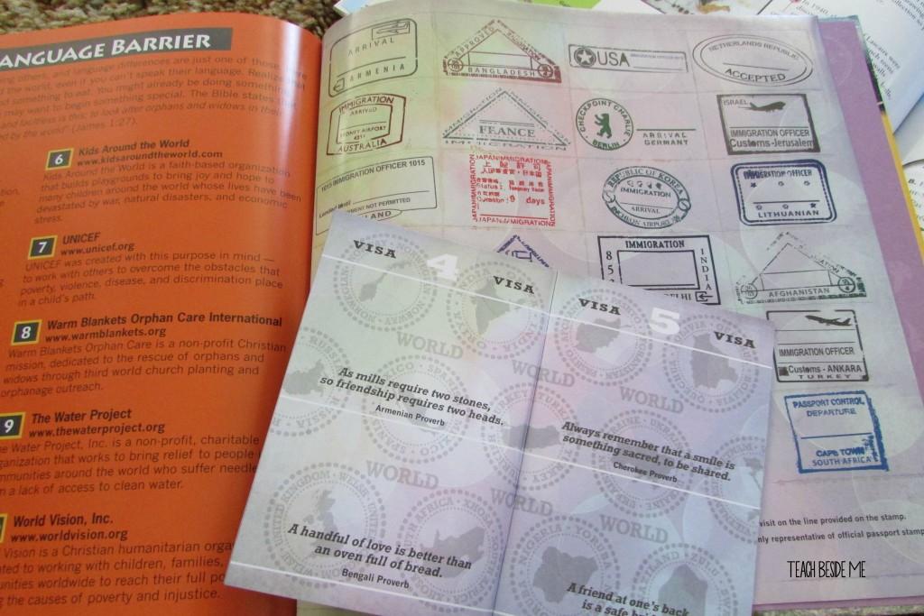 Geography curriculum passport