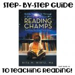 Reading Champs- a book to teach reading