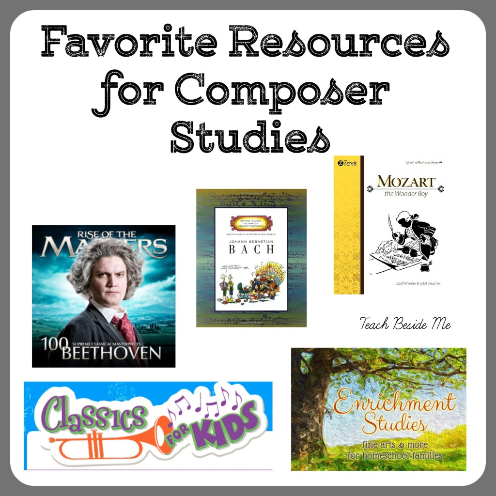 Resources for Composer Studies