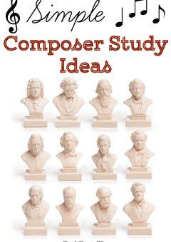 Simple Composer Study Ideas