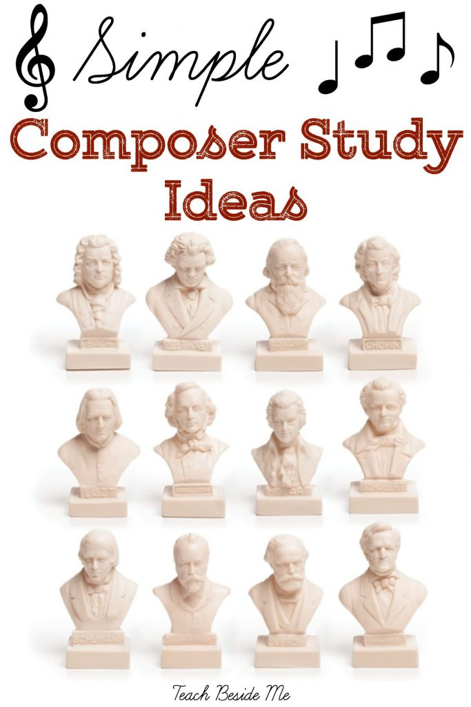 Simple Composer Study Ideas from Teach Beside Me