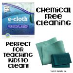 e-cloth chemical-free cleaning for kids