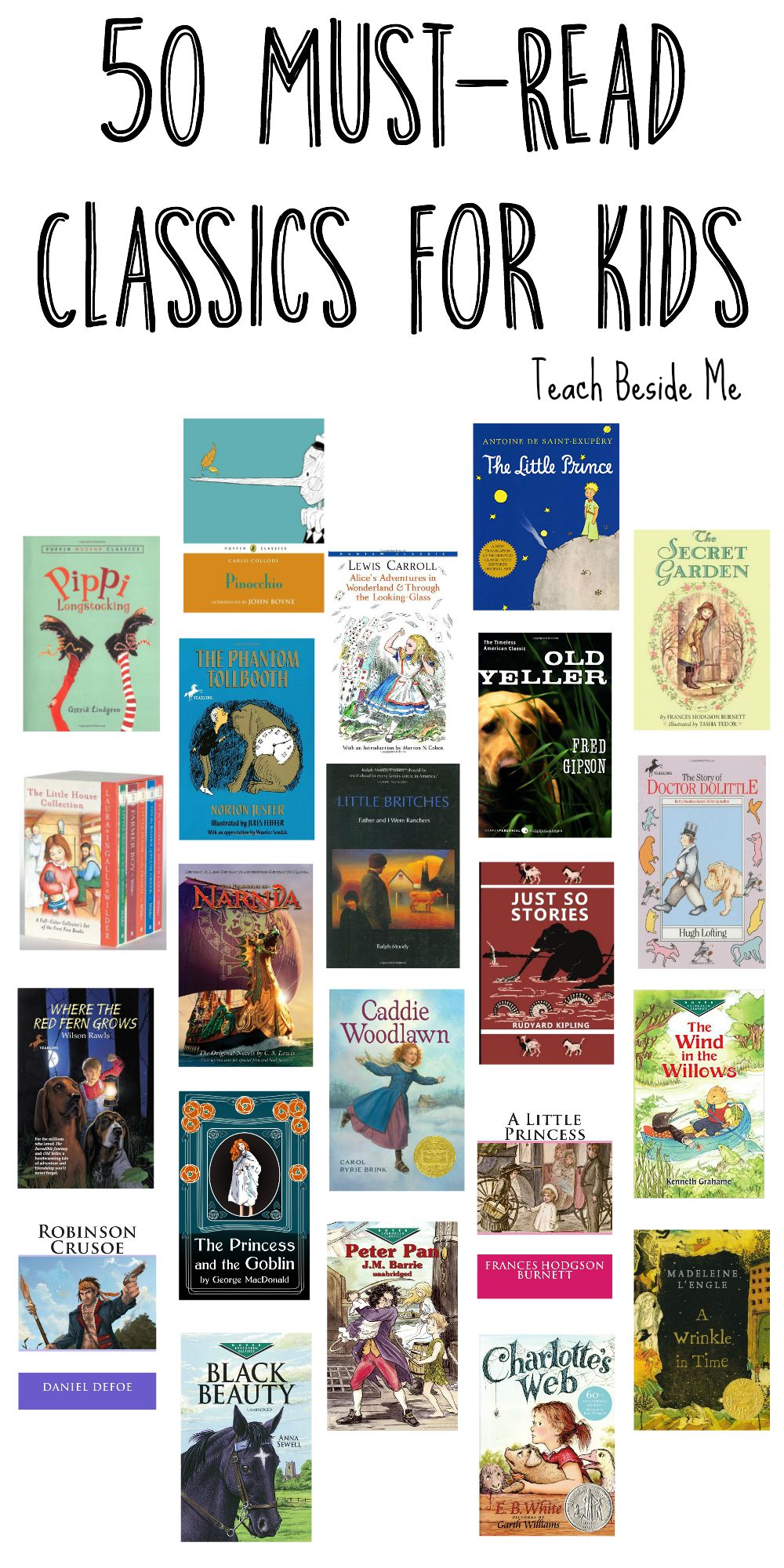 50 Must Read Classics for Kids