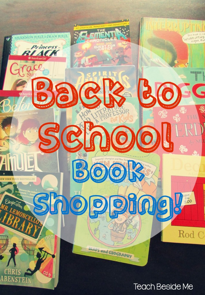 Back to School Book Shopping