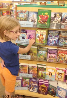 Book shopping- raising readers