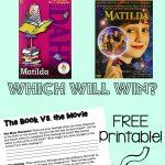 Matilda: Book Vs. Movie