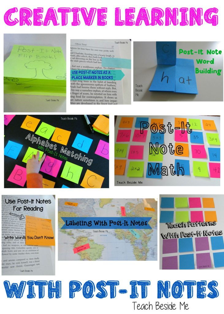 Creative Learning With Post-It Notes