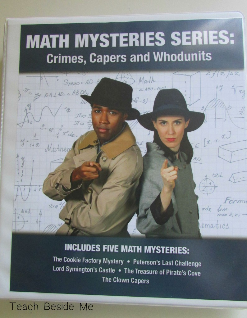 Math Mysteries series Crimes Capers and Whodunits