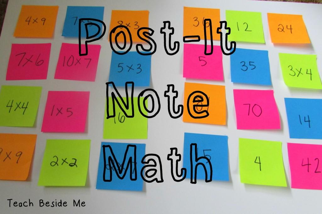 Post-It Note Math