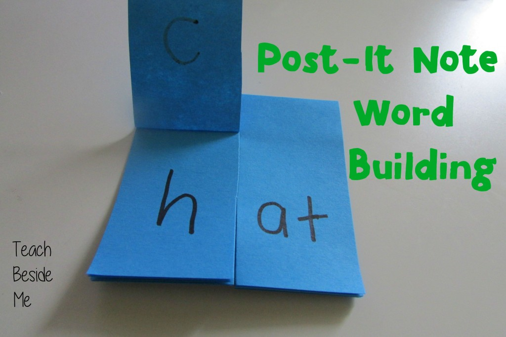 Post-It Note Word Building