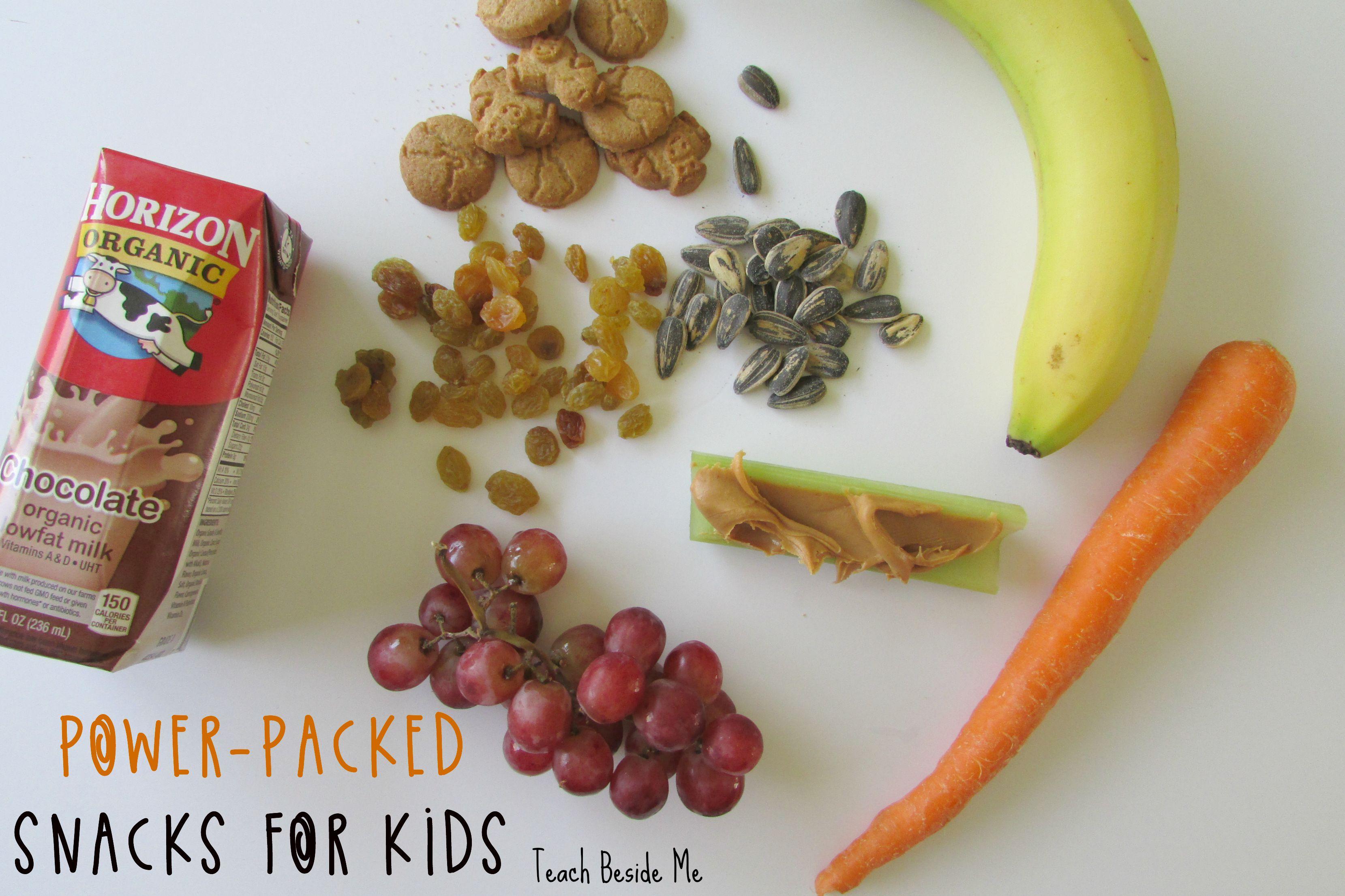 Power-Packed Snacks for Kids