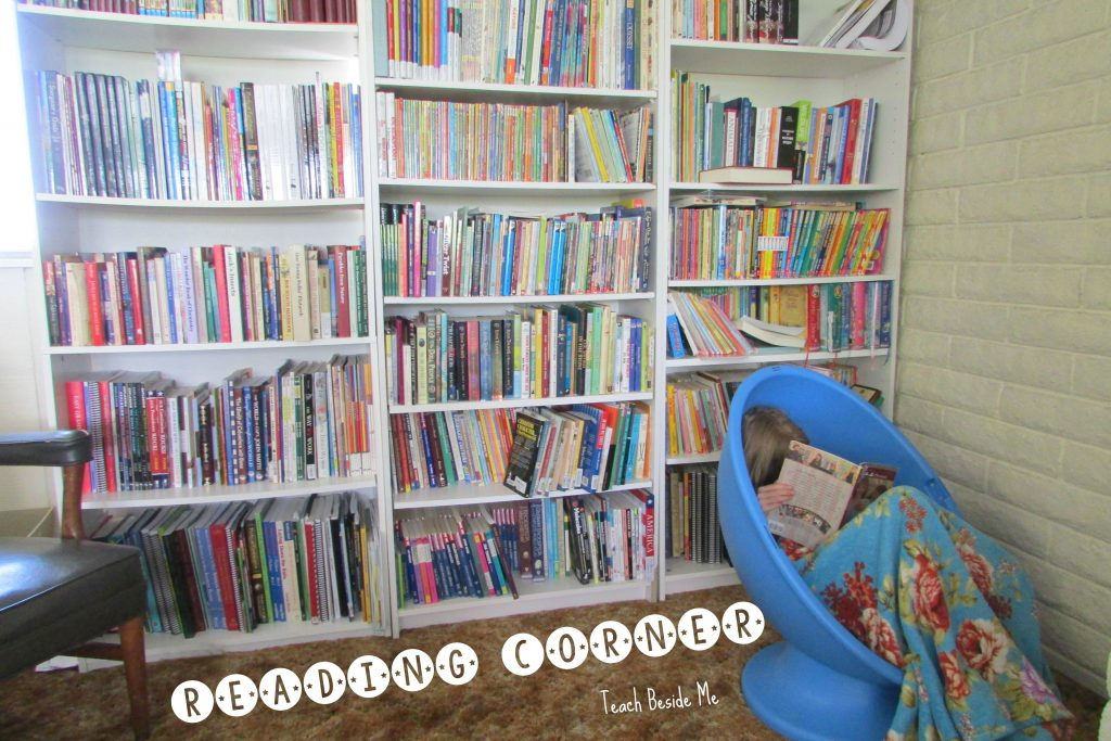 Reading Corner from Teach Beside Me