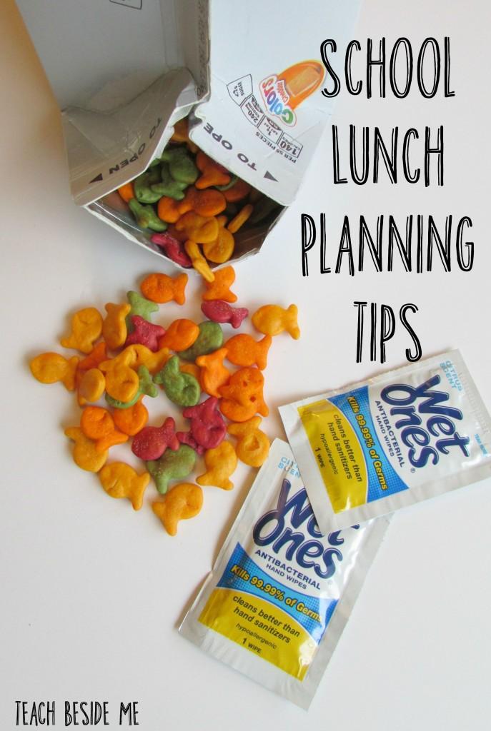 School Lunch planning tips