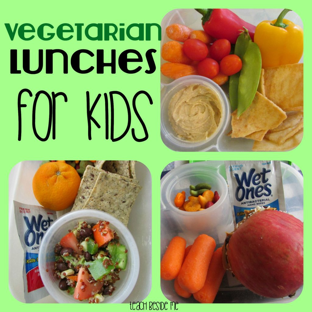 Vegetarian Lunches for Kids