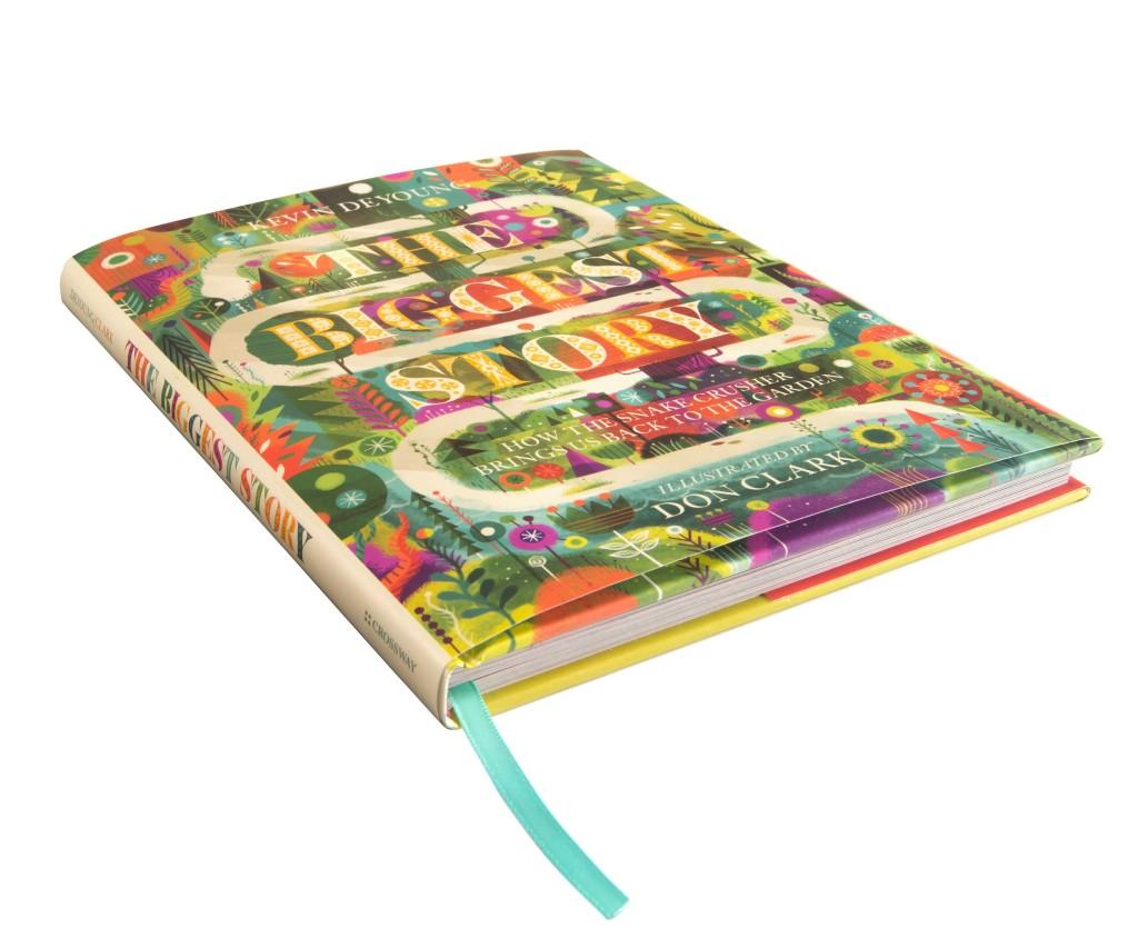 Hardcover bible storybook