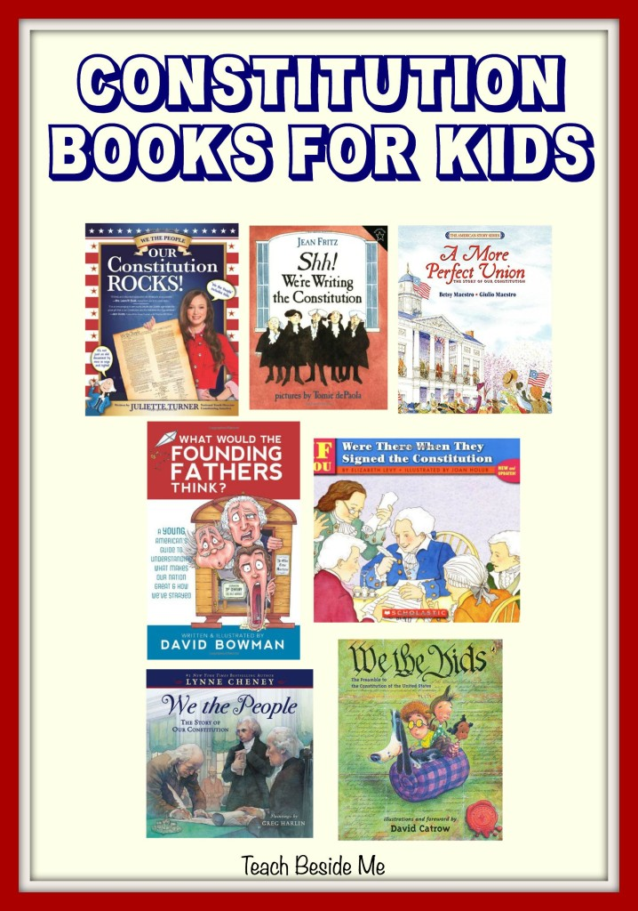 Constitution Books for Kids