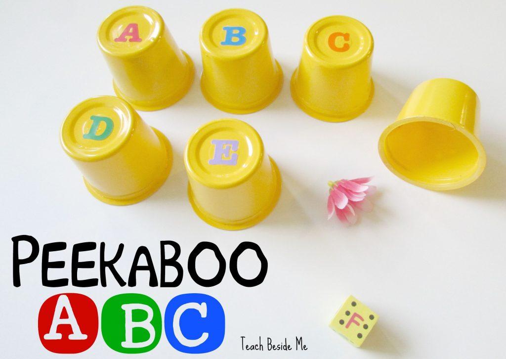 Peekaboo ABC- a preschool alphabet game