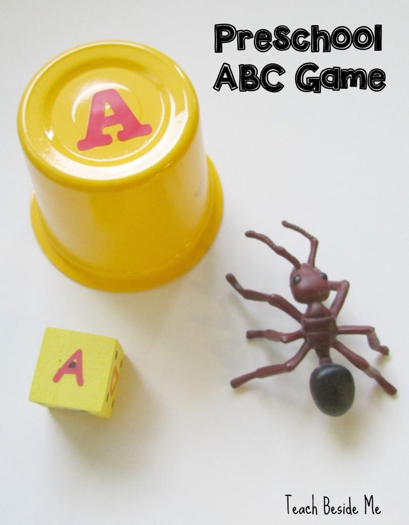 Preschool ABC Game