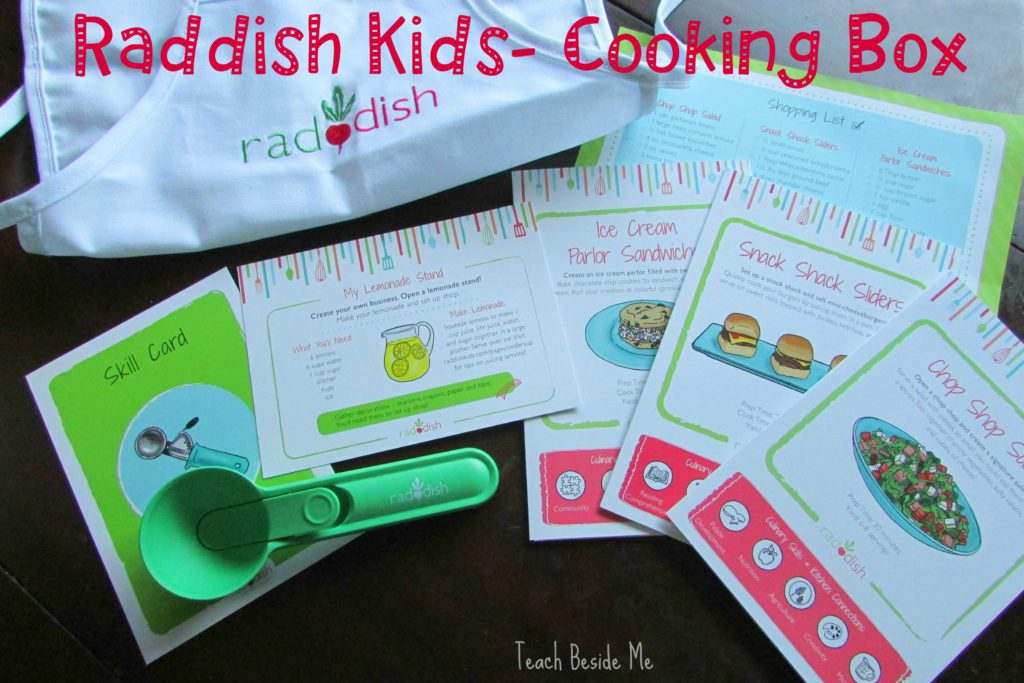 Raddish Kids- Cooking Box