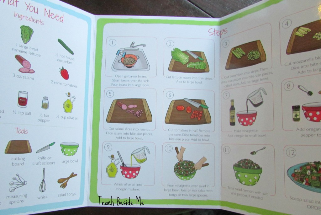 Step-by-step cooking for kids
