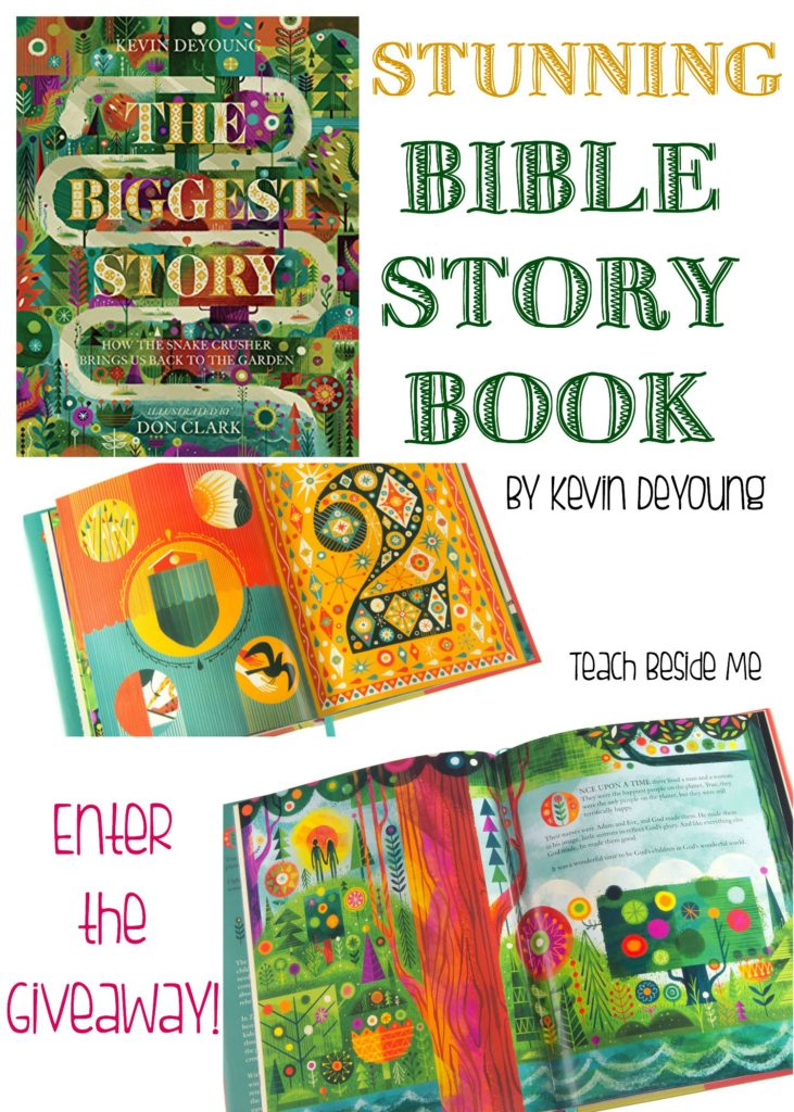 The Biggest Story- Bible Story Book Giveaway