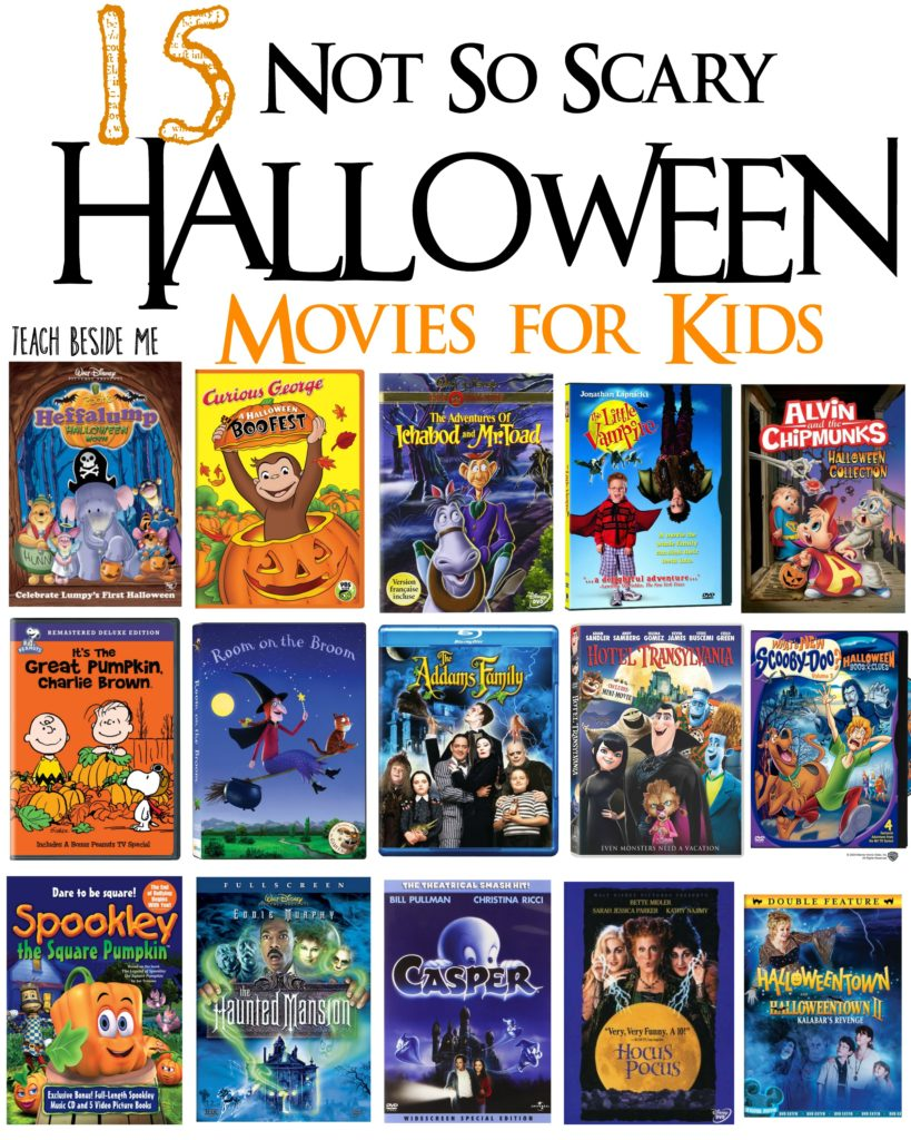 15 Not-So-Scary Halloween Movies for Kids - Teach Beside Me