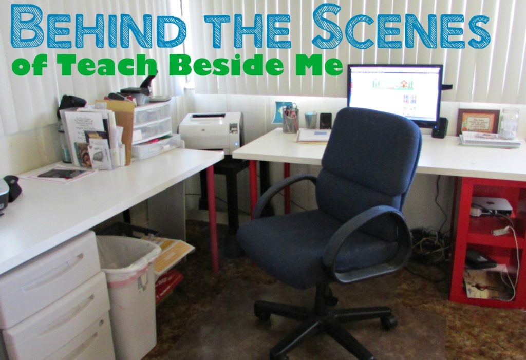 Behind the scenes of a homeschool mom blogger