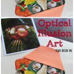 Salvador Dali Optical Illusion Art