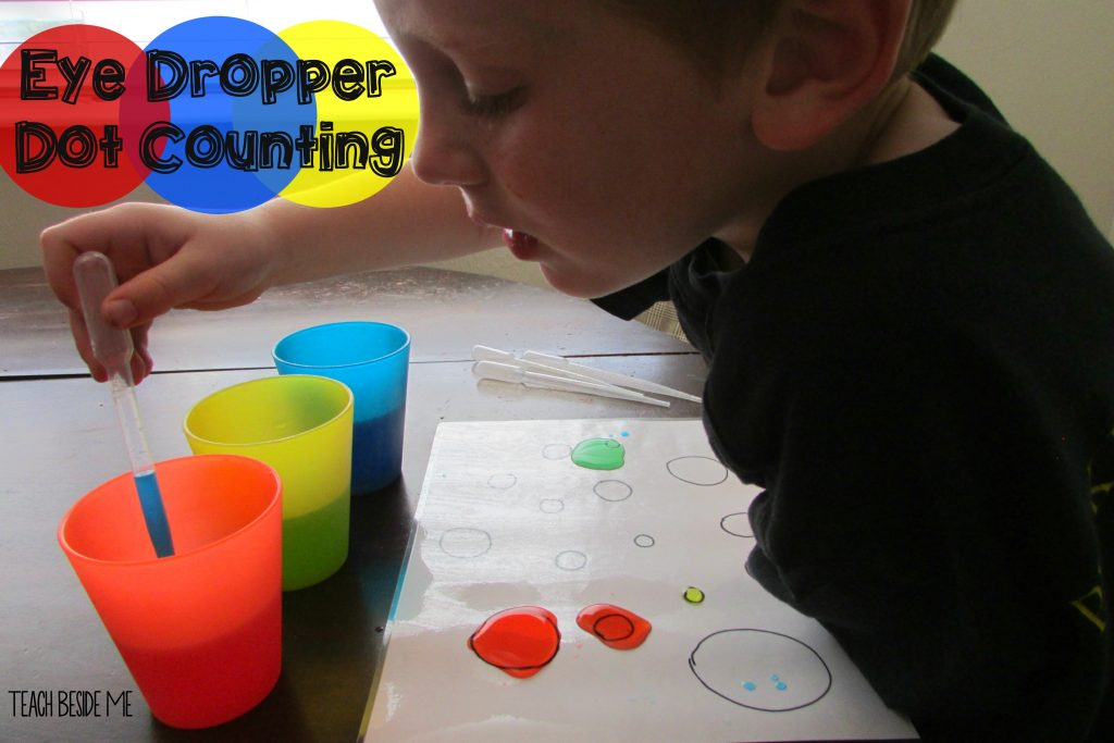Eye Dropper Dot Counting